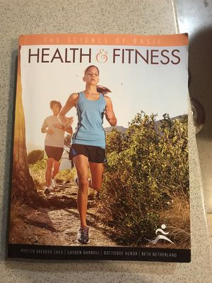 Science of basic health and fitness textbook for Sale in Austin, TX