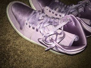 Nike air Jordan's purple for Sale in Fresno, CA