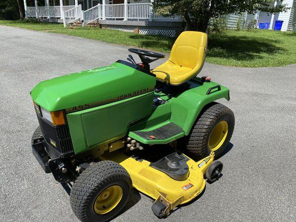 John Deere Tractor 455