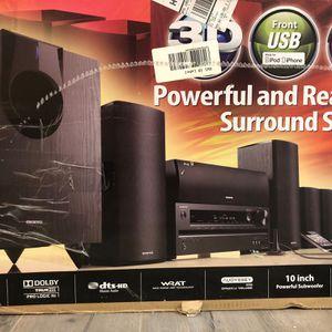 Onkyo Speaker System - Speakers Only for Sale in Warren, NJ