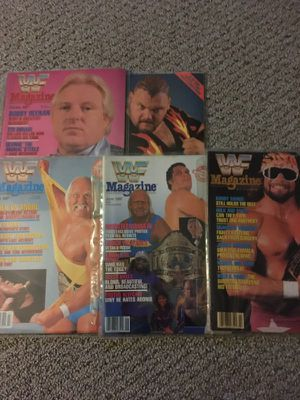 47 Vintage WWF and Wrestling Spotlight Magazines 1986-1991 for Sale in Smithtown, NY