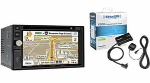 "GPS: Jensen VX7020 Double Din Navigation DVD/CD Receiver with 6.2"" Touchscreen and SXV200V1 SiriusXM Tuner and Antenna for Sale in Fresno, CA"