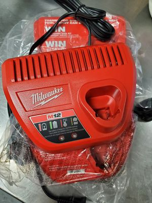 Milwaukee m12 battery charger for Sale in Covina, CA
