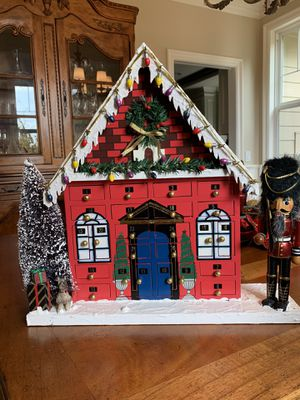 Bombay Company Christmas Chalet Advent Calendar for Sale in Azusa, CA