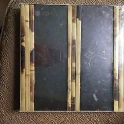 Vintage Mirror with Bamboo Wall Tile for Sale in Chicago,  IL