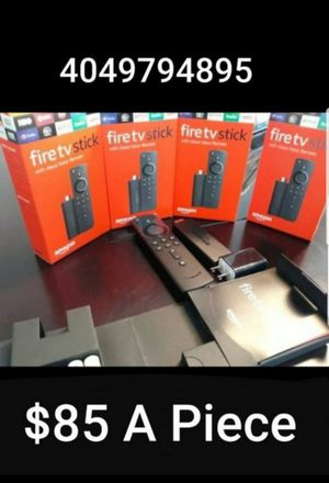 Come Get This Amazon Firestick With Alexa Voice Remote control Commands!!!! for Sale in Atlanta, GA
