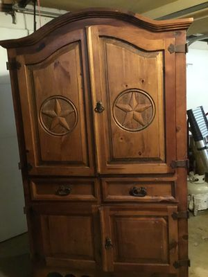Rustic Pine Armoire for Sale in McLean, VA