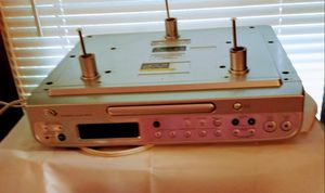 Under the shelf/cabinet cd player/AM/FM Digital clock radio. for Sale in Lakeside, TX