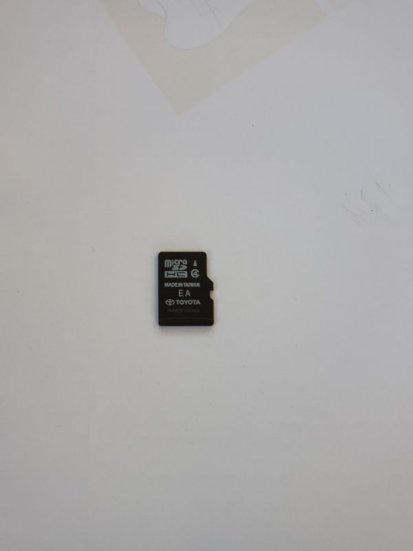 Genuine Toyota OEM 2016 GPS Navigation Map Update Chip for 2013-2016 TOYOTA MODELS WITH MICRO SD CARD SLOT, Part No. 86271-0E183