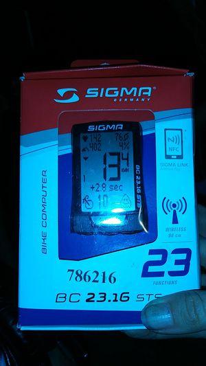 Sigma bike computer for Sale in Lodi, CA
