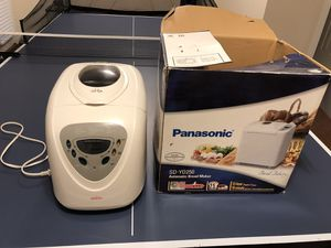 Panasonic bread maker for Sale in Vienna, VA