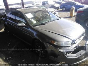 Wrecked 2008 Acura TL for parts only for Sale in Phoenix, AZ