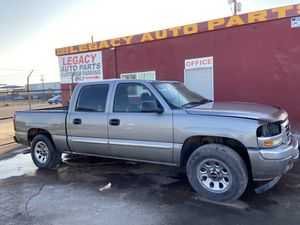 2007 GMC Sierra 5.3 4x4 Parts only for Sale in Laveen Village, AZ
