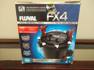 Fluval FX4 aquarium filter for Sale in Murfreesboro, TN