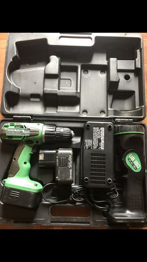 Hitachi Drill and Flashlight for Sale for sale  Stanhope, NJ