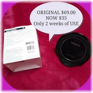SAMSUNG WIRELESS FAST CHARGE, LIKE NEW for Sale in Brandon, FL
