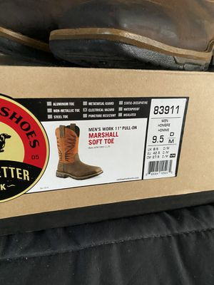 Redwings boots 9.5D soft toe for Sale in Austin, TX