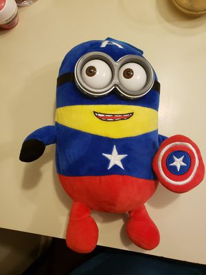 Plush toy Musical Minion Captain America for Sale in Zephyrhills, FL