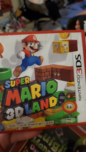 Super mario land for 3ds for Sale in Laveen Village, AZ