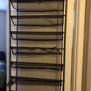 Over The Door Shoe Rack for Sale in Ivyland, PA