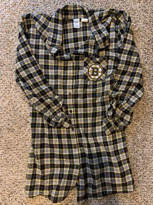 Boston Bruins Pajama Flannel for Sale in Morgantown, WV