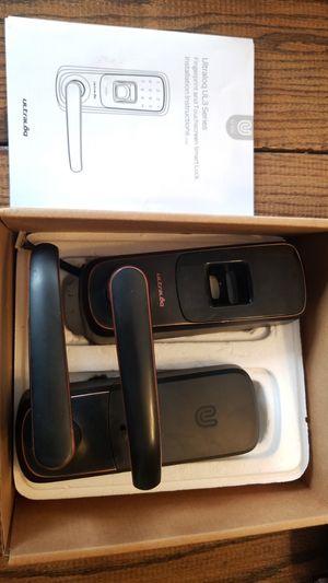 Ultraloq UL3; fingerprint, passcode, key smart lock for Sale in Santa Monica, CA