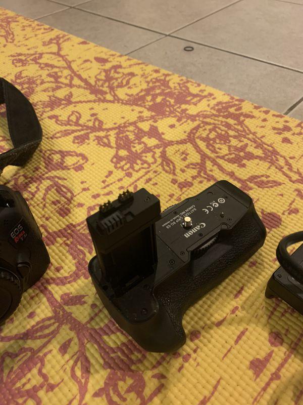 Camera EOS REBEL T3i