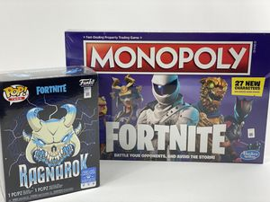 FORTNITE Funko Pop & Monopoly Board Game for Sale in Pittsburgh, PA