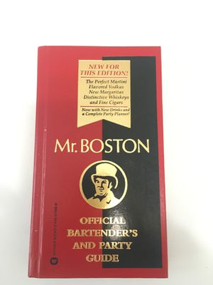 Mr Boston Official Bartenders and Party Guide for Sale in Coral Gables, FL