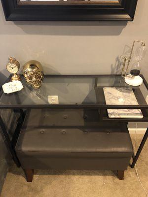 metal frame desk for Sale in Purcellville, VA