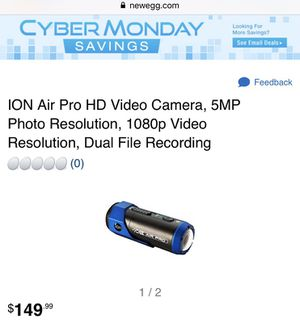 ION Air Pro HD Video Camera for Sale in Portland, OR