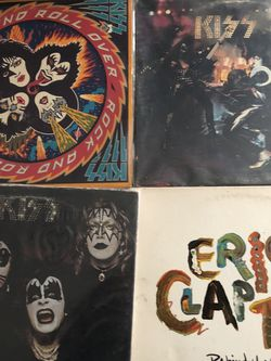 34 Rock Records Vynals As Is for Sale in Fountain Valley,  CA
