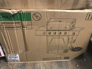 Outdoor bbq 4 burner gas grill for Sale in Fort Worth, TX