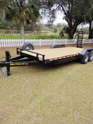 14k premium Equipment trailer 20' 7 ton for Sale in Dover, DE