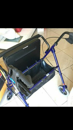 Walker with seat for Sale in Ontario, CA