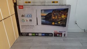 """65"""" tcl SMART 4K TV UHD HDR LED ROKU for Sale in Alhambra, CA"""