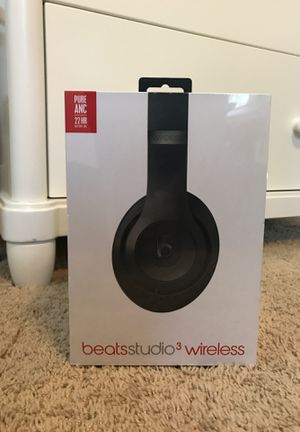 Studio 3 Beats by Dre (Wireless Headphones) for Sale in Hampton, VA