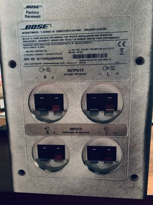 Bose subwoofer for Sale in Austin, TX