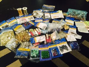 #1 HUGE JEWELRY MAKING- BEAD CRAFT LOT for Sale in Upper Saint Clair, PA