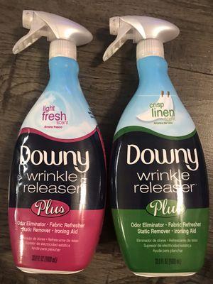 Downy wrinkle release plus $4.50 each for Sale in Arrowhead Farms, CA