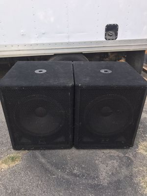 Speakers Peavey for Sale in San Bernardino, CA