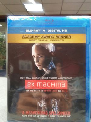 Ex Machina Blu-ray Like New No Digital Code for Sale in Los Angeles, CA