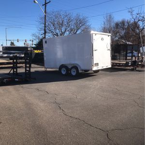 New 2021 7x14+ V-nose R&M Cargo Trailer for Sale in Aurora, CO
