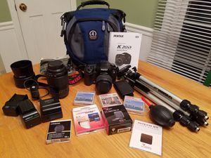 Pentax K20D Digital SLR Camera and gear for Sale in Brentwood, TN