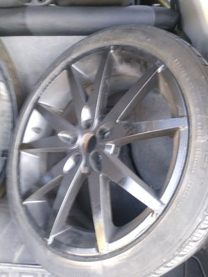 "RIMS 18"" 5X100 LLANTAS EN BUENAS CONDICIONES PLASTI DIP PAIN for Sale in Richardson, TX"