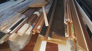 Kitchen cabinet doors crown and assorted trim for Sale in Moreno Valley, CA