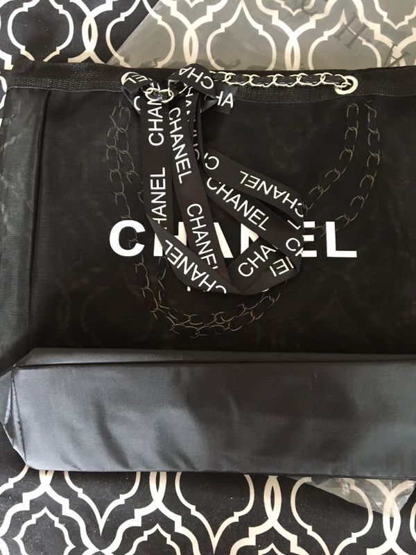 *ONLY 2 LEFT* Authentic VIP GIFT Chanel Mesh Tote!
