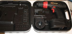 Coleman powermate 18 volt , cordless drill with case for Sale in Kissimmee, FL