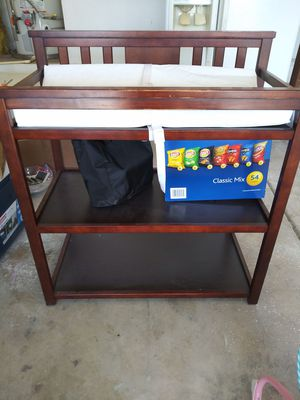 Changing Table with Pad for Sale in Vallejo, CA