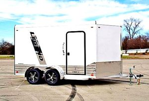 💲 1️⃣0️⃣0️⃣0️⃣ firm price!! e🇳c🇱o🇸e🇩 🇨a🇷g🇴 🇹r🇦i🇱er hitch type bumper pull for Sale in Bloomfield, NJ